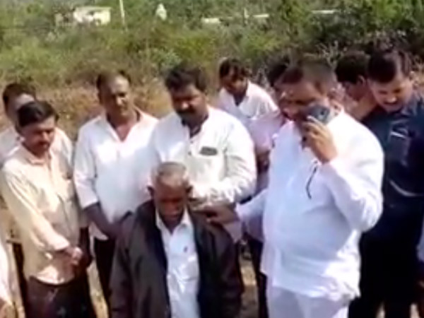 Congress MLA Sangamesh threatened to forest officer