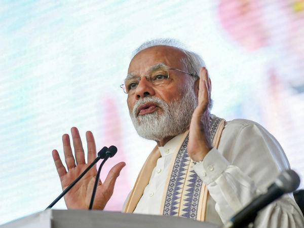 ಮಹಾಮೈತ್ರಿಕೂಟ ದೇಶದ ಜನತೆಗೆ ವಿರುದ್ಧ: ನರೇಂದ್ರ ಮೋದಿ