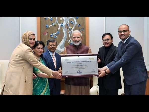 ಗುಪ್ತ್ 'ಪ್ರಶಸ್ತಿ' ಪಡೆದ ಮೋದಿಜೀಗೆ ಅಭಿನಂದನೆ, ರಾಹುಲ್ ಗಾಂಧಿ