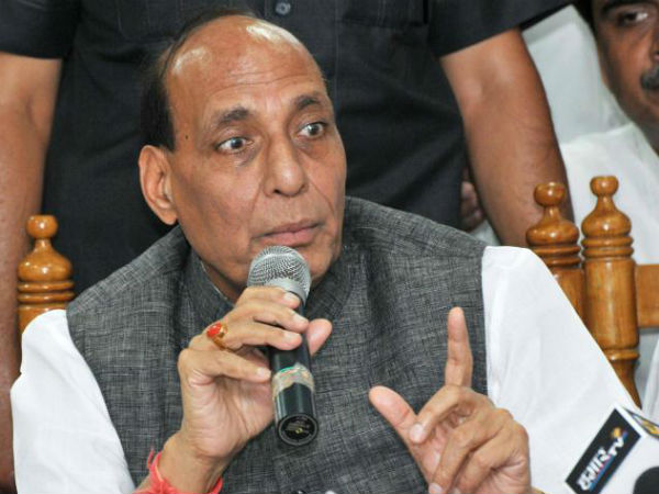 Support freedom of religion, not conversion: Rajnath Singh