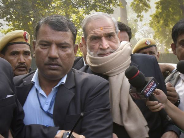 Sajjan Kumar surrenders after conviction in 1984 anti-Sikh riots case