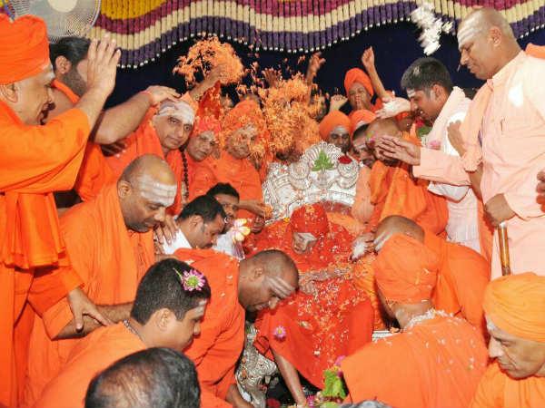 ಸಿದ್ದಗಂಗಾ ಶ್ರೀಗಳ ಅಂತಿಮ ದರ್ಶನ: ಭಕ್ತಾದಿಗಳ ನೂಕು-ನುಗ್ಗಲು