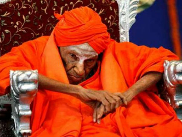 Siddaganga Shree shifted to mutt
