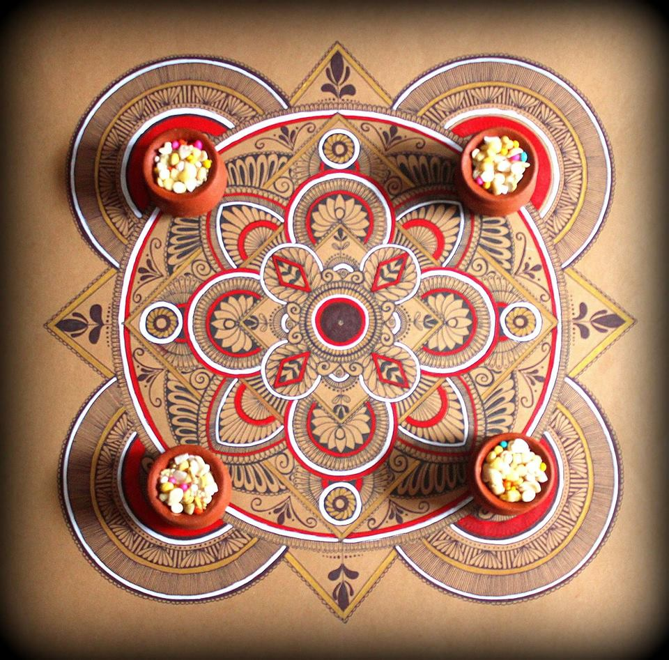 Makara Sankranti Special Essence Of Mandala Art During Festivals