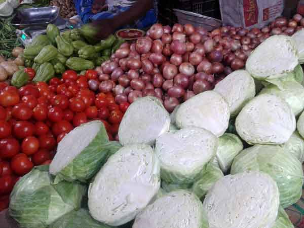 Sharp rise in Vegetable prices