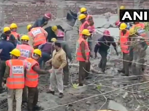 One killed, at least 20 trapped after building collapses in Gurgaon