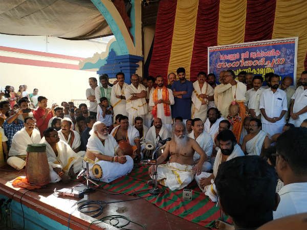 Yesudas celebrates his 79 birthday in Kollur