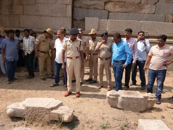 Vandalism at Hampi:Name of the accused not revealed