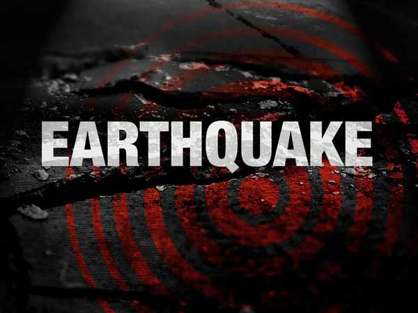 Earth quake in North Indias some regions