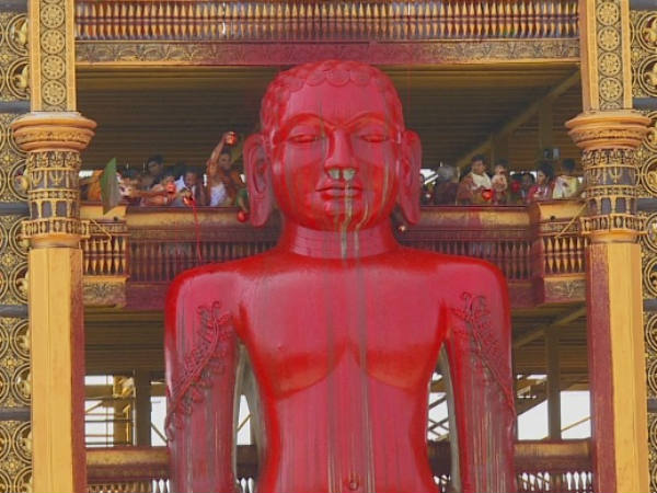 Bahubali Mahamastakabhisheka Mahotsava started on February 16