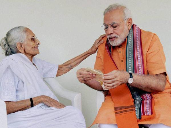 What Modis Mother Had To Say When He Was Elected The Cm Of Gujarat