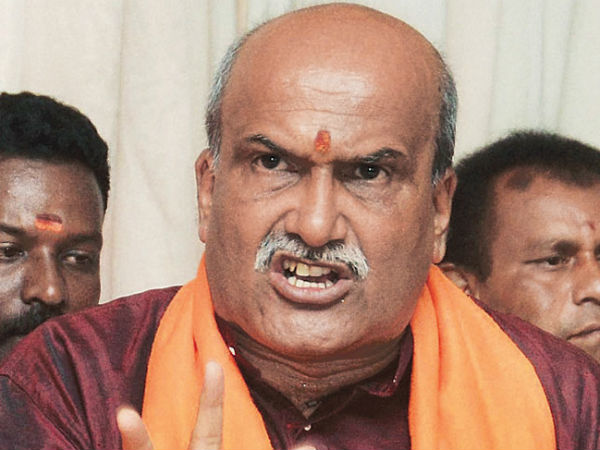 we are not going to contest in loksabha election:Pramod Muthalik