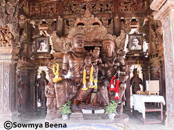 Travelogue Santuary Of Truth Pattaya Thailand Sowmya Beena