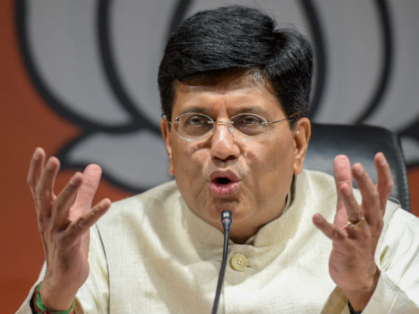 Railway minister Piyush Goyal tweeted doctored video