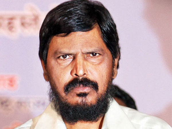 Ramdas Athawale upset over seat sharing scheme between BJP and Shiv Sena