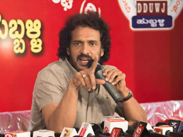 Upendra is not contesting Lok Sabha elections 2019