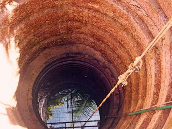 Sudden rise of water level in well at Paladka