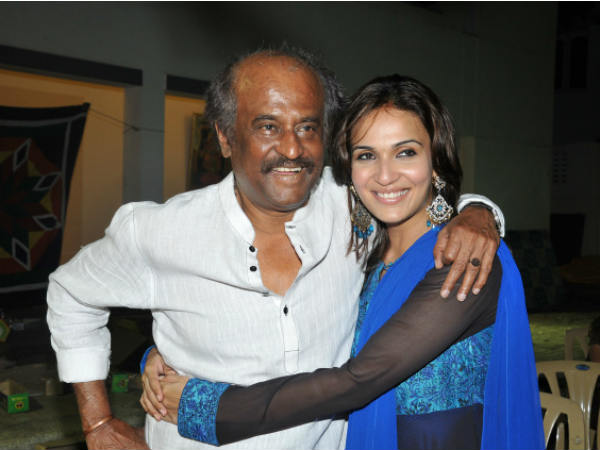 Actor Rajinikanth personally inviting guests for daughters wedding