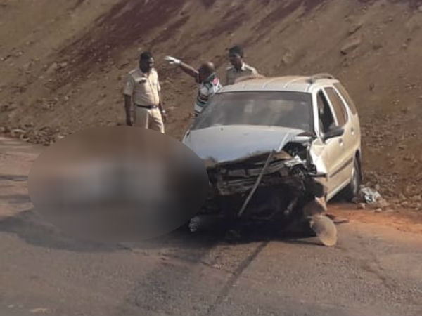 SSLC student died in a car accident near Ankola
