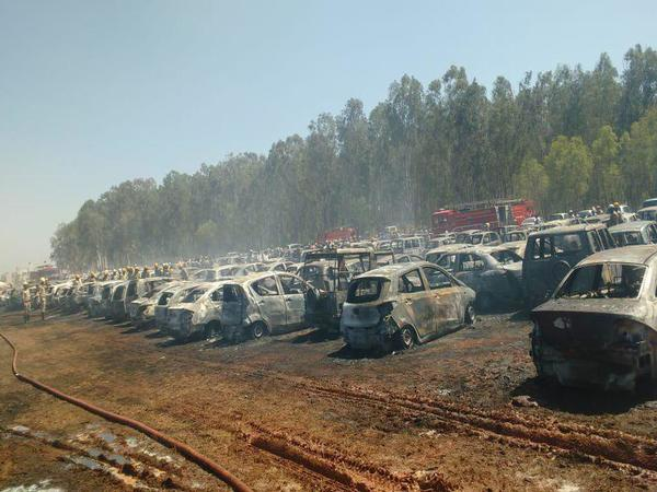 Six car owner didnt claim their car after Aero India firing incident