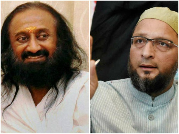 Ayodhya dispute SC Verdict: Owaisi opposes Sri Ravi shankar as mediator
