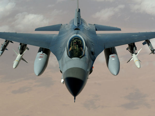 We are closely following reports of Pakistan using F-16 against India