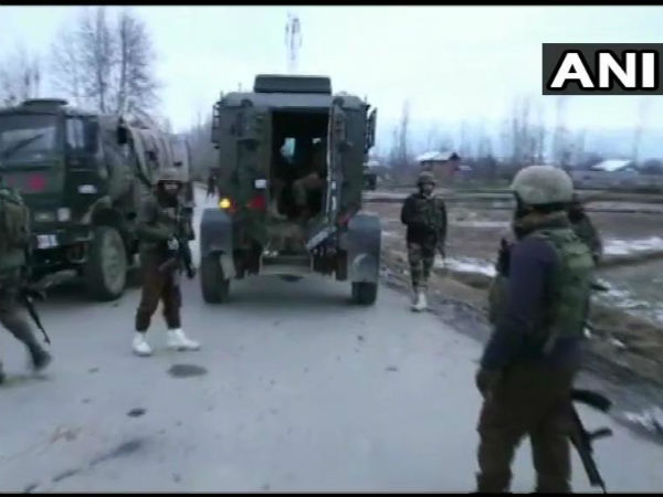 Security forces gun down militant in encounter in Handwara