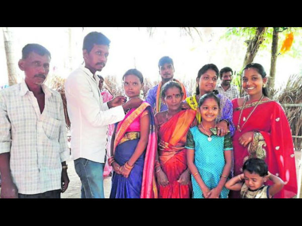 Poor Hindu girl marriage done by Muslim families in Uppinagady