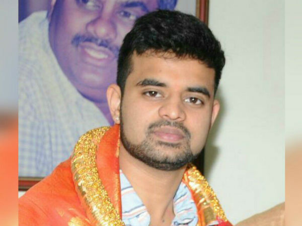 Prajwal Revanna will files nomination in hassan on friday performed pooja with his parents
