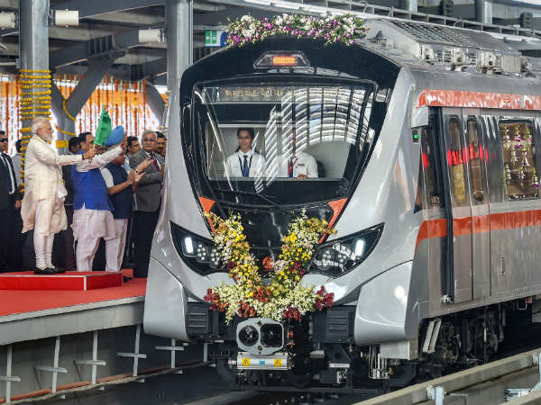 Ahmedabad Metro now open for public, offers free ride for passengers for 10 days