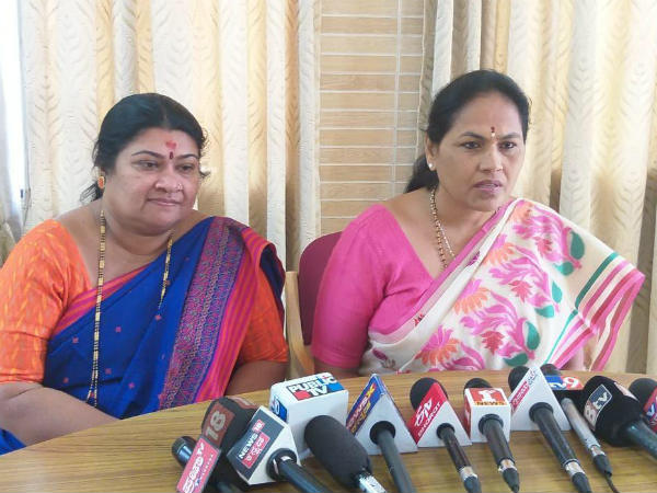 Shobha Karandlaje again spoke against Minister Revanna
