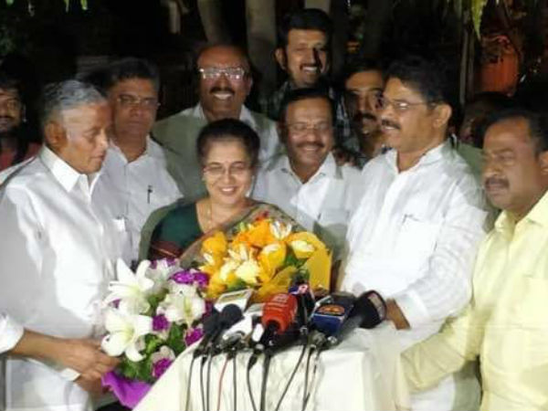 BJP MLAs proposes Tejaswini Ananthkumar name for Bangalore South