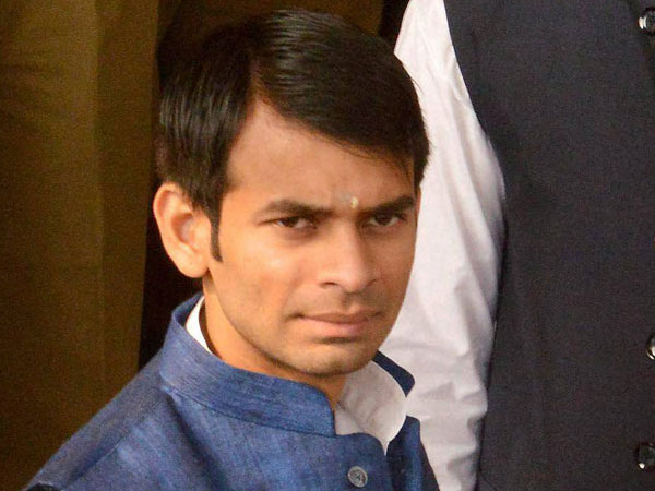 Lalu Yadav elder son Tej Pratap Yadav Resigns from party post