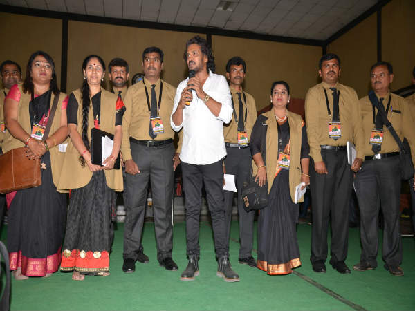 Upendra introduced Uttam Prajakiya party candidates