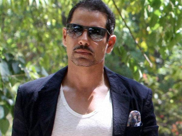 I will not leave or in be active politics until my name clear in ED: Robert Vadra