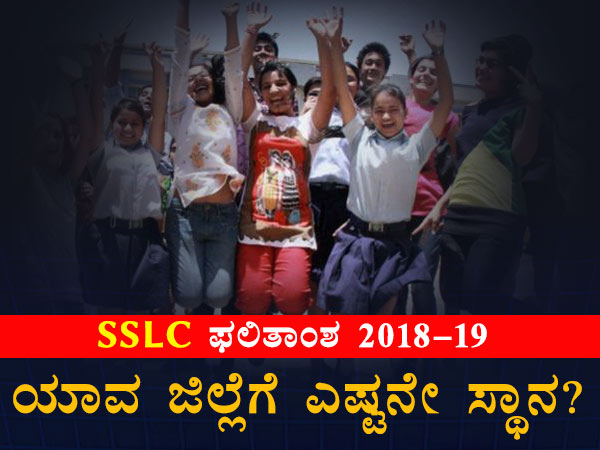 Karnataka Sslc Results 2019 District Wise Percentage Infographics