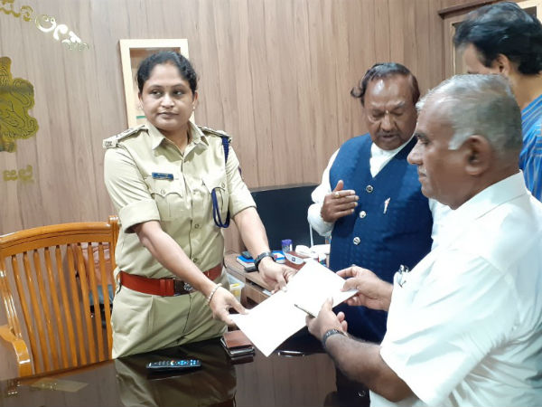 KS Eshwarappa appealed to Shivamogga deputy commissioner