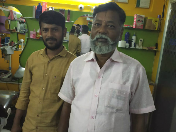 Lok Sabha Elections : Free haircut and shaving by Bengaluru barber