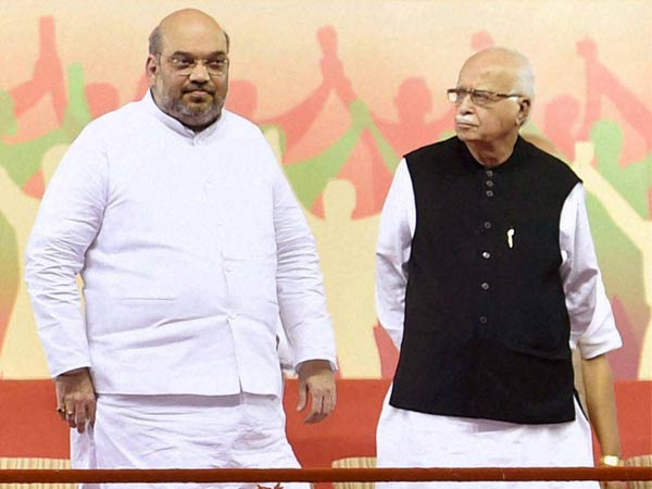 Amit Shah might be met LK Advani and MM Joshi before manifesto launch