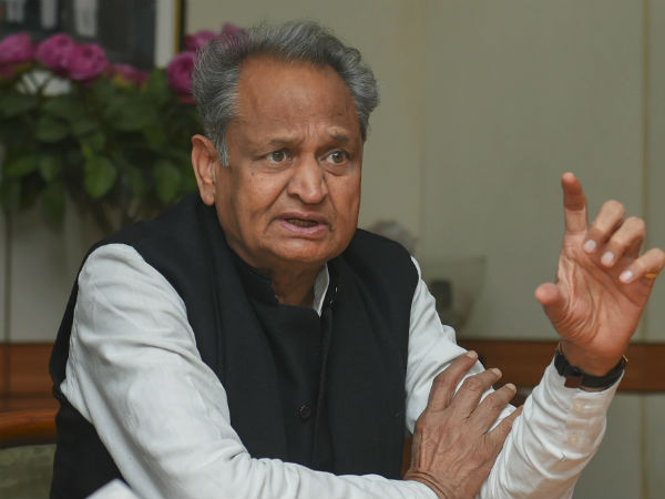 Rajasthan CM Ashok Gehlot controversy ram nath kovind made president because of his caste