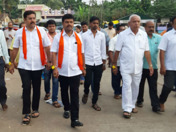 My victory in the Shivmogga constituency is certain:BY Raghavendra