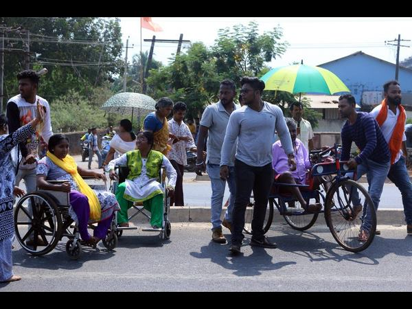 In Uttara Kannada 89% disabled people cast their vote