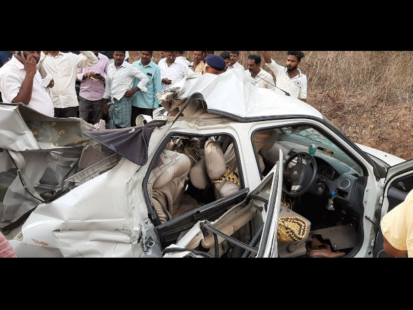 Car accident in Shimoga, 5 people die of same family