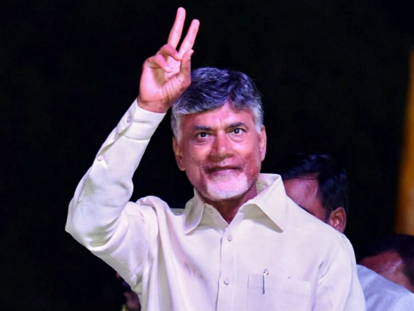 Chandrababu Naidu election campaign in Mandya on April 15