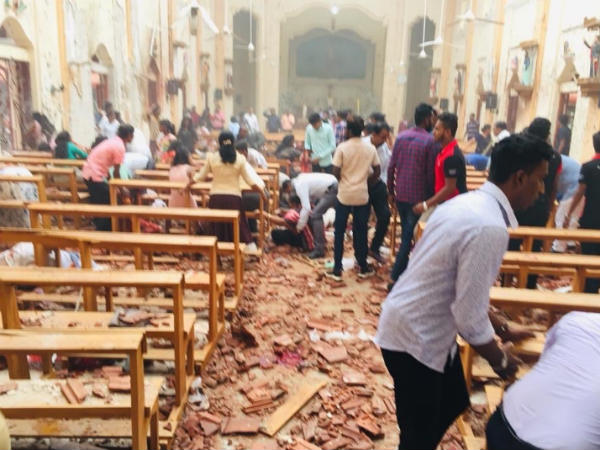 80 Injured In Blasts At Two Sri Lanka Churches During Easter Mass: Report