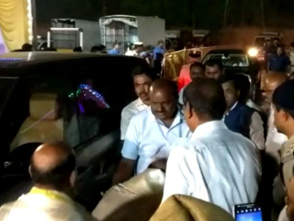 CM Kumaraswamy, HD Deve Gowda visits Kapu health resort