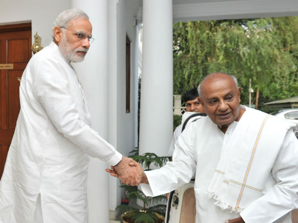 Deve Gowda is better PM than Narendra Modi: HD Kumaraswamy