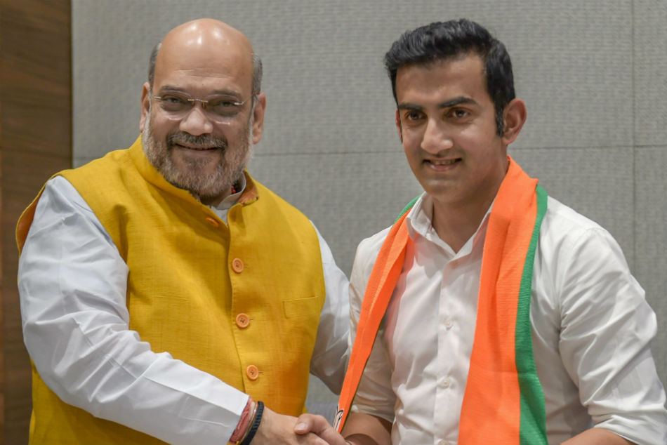 Gautham Gambhir will contest from east Delhi as BJP candidate