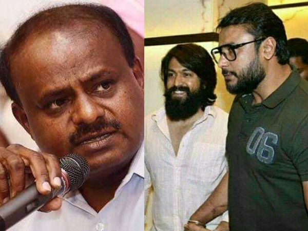 Darshan and Yash will regret shortly for their words during in Mandya campaigning, CM Kumaraswamy