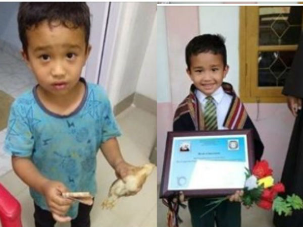 Mizorams humble boy, an internet hero has been rewarded by school